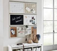 Daily Organization System Magnetic Whiteboard Pottery Barn