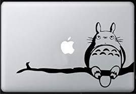 Amazon Com Totoro Branch Sticker Decal Macbook Air Pro All Models Computers Accessories