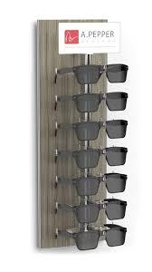 sunglass wall rack display custom 6pc