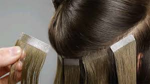 thinning hair tape in hair extensions