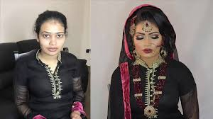 asian bridal hair makeup tutorial with