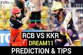 RCB vs KKR Dream11 Team Prediction ...