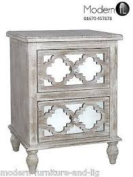 ash wood bedside chest of 2 drawers