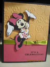 Minnie Mouse Birthday Card Tarjetas De Feliz Cumpleanos