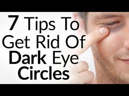 tips to get rid of black under the eyes