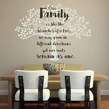 Amazon Com Family Tree Wall Decal Vinyl Decor For Decorating Home Family Room Kitchen Bedroom Handmade