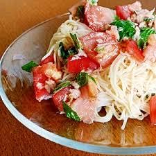 ツナ缶でトマトそうめん レシピ・作り方 by bapaksan|楽天レシピ