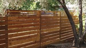 Horizontal Fence Easy Diy Project Youtube