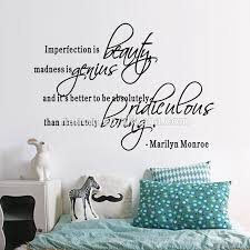 Marilyn Monroe Quote Wall Decals Beauty Home Decal Wall Sticker Wallpaper Girls Room Bedroom Decorative Supply Print Stickers Buy Removable Pvc Wall Decals Home Decoration Bedroom Living Room Wall Sticker Product On Alibaba Com