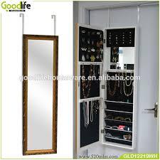 door wooden storage box jewelry cabinet