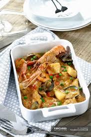 Spanish seafood Zarzuela ...