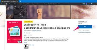 the wallpaper installation app