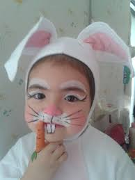 bunny makeup for baby makeuppict