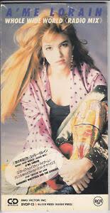 A'ME LORAIN whole wide world BVDP-13 JAPAN 3 INCH Single CD 046   eBay