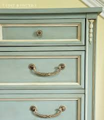 dark wax on your painted furniture