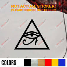 Eye Of Ra Re Horse Egyptian God Pagan Symbol Car Decal Sticker Vinyl Truck Boat Die Cut No Background Pick Color And Size Style3 Car Decal Sticker Sticker Vinyldecal Sticker Aliexpress