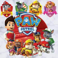 paw patrol wallpaper border paw