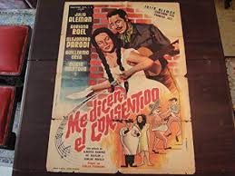 Original Mexican Movie Poster Me Dicen El Consentido Julio Aleman Adriana  Roel: Amazon.co.uk: Kitchen & Home