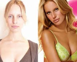models without makeup surprise they re