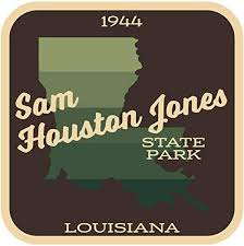 Amazon Com Jb Print Sam Houston Jones State Park Hiking Camping Explore Wanderlust Vinyl Decal Sticker Car Waterproof Car Decal Bumper Sticker 5 Kitchen Dining
