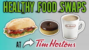 healthiest foods at tim hortons and the
