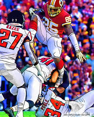Washington Redskins Vernon Davis - Atlanta Falcons Brian P… | Flickr
