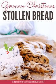 german christmas bread easy stollen