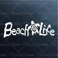 Save Big On Beach Life Turtle Car Truck Decals
