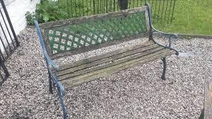 cast iron bench ends garden furniture