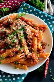 y italian sausage penne pasta