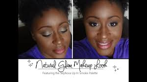 natural glam makeup ft sephora up in