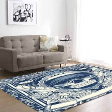 3d skull area rug party decorative kid