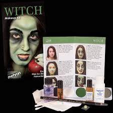 mehron witch character makeup kit