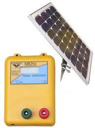 Solar Electric Solar Powered Electric Fence Energiser
