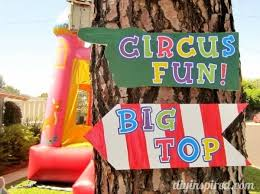 carnival theme or circus theme party