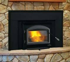 1101 wood burning fireplace insert