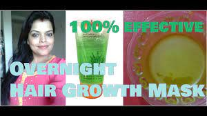 overnight hair growth mask using