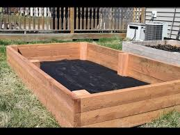 how to make a raised garden bed