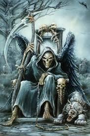 mobile phone wallpaper grim reaper