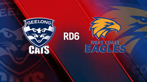 Geelong Cats vs West Coast ...