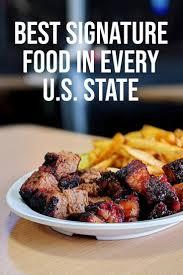 best signature food in every u s state