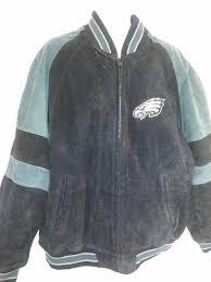 nfl philadelphia eagles suede leather
