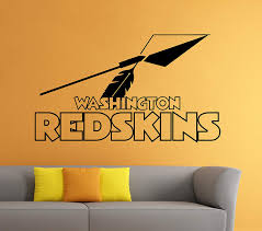 22high X 38wide Washington Redskins Wall Vinyl Decal Sticker Nfl Emblem Football Logo Sport Home Interior Removable Decor Talkingbread Co Il