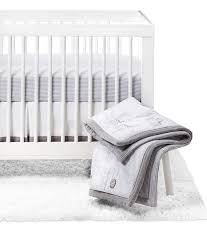 crib bedding set two by two 4pc cloud