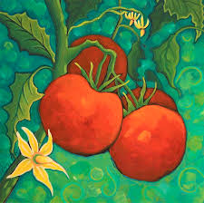 Summer Delicious Painting by Peggy Davis