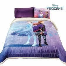 frozen 2 comforter bedding sherpa