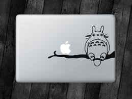 Totoro On Branch Sticker Chibli Decal For Macbook Ipad Laptop Car Window Ebay