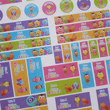 Arma Tu Candybar Con Etiquetas De Bichikids