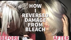 how to grow out breakage from bleach