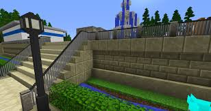 Minecraft Chisel And Bits Mod Fence Inspiration In 2020 Minecraft Mansion Minecraft Minecraft Architecture